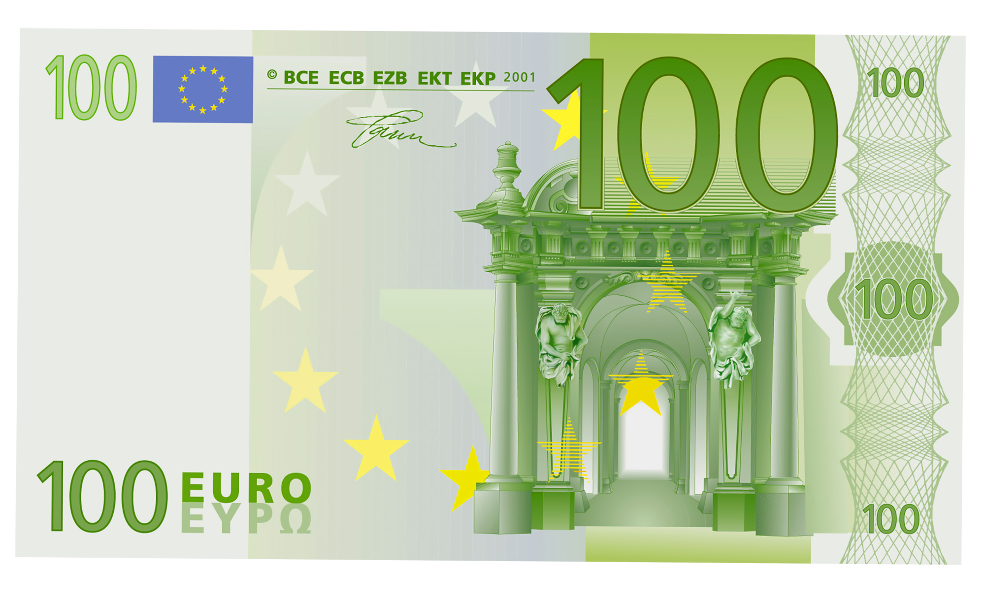 Euro money clipart clipart free 100 Euro PNG Clipart | Gallery Yopriceville - High-Quality Images ... clipart free