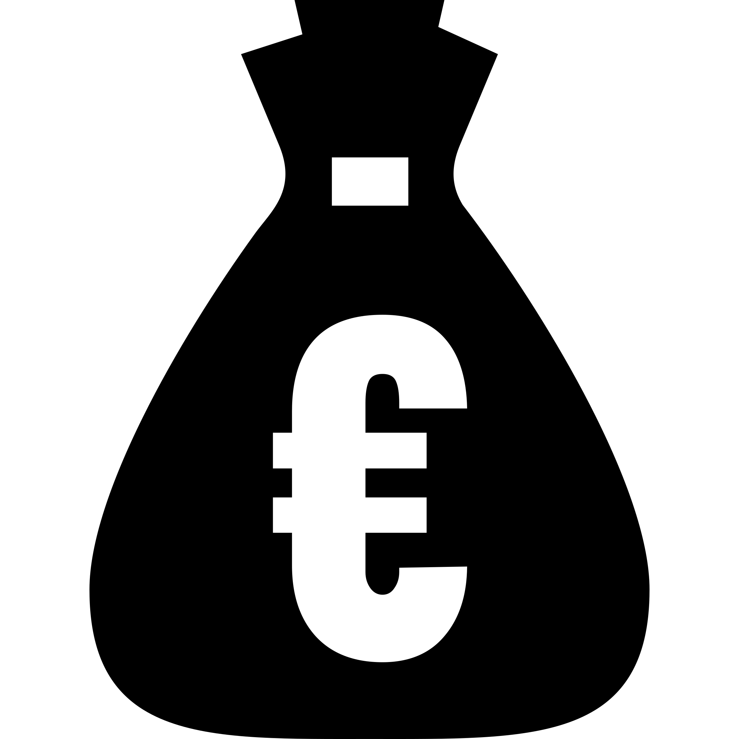 Money bag clipart black and white picture library download Clipart - euro money bag picture library download