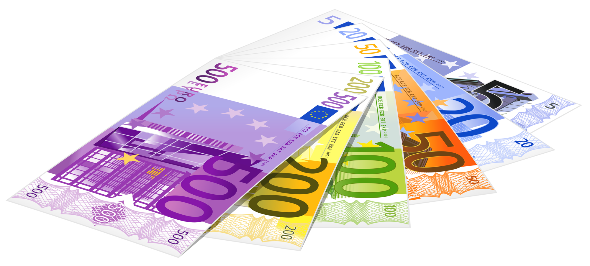 Euro money clipart clipart library download Euro Banknotes PNG Clipart 660 clipart library download