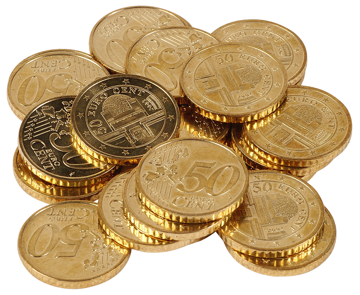Euro money clipart image Transparent Euro Cents PNG Clipart | Gallery Yopriceville - High ... image
