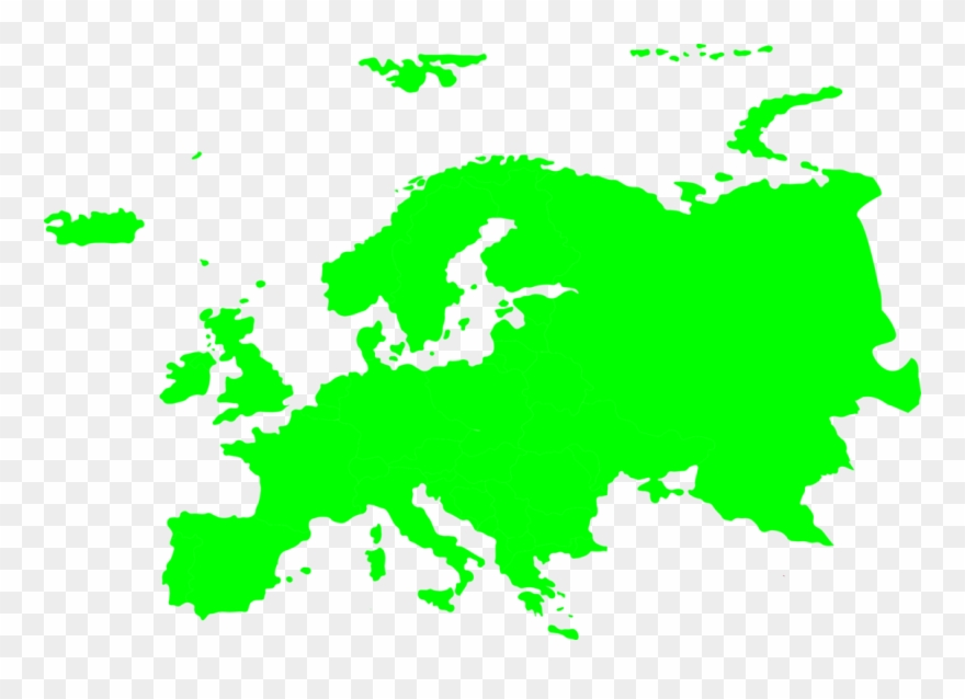 Europe map vector clipart clip black and white library Europe World Map Drawing - Simple Europe Map Vector Clipart (#78268 ... clip black and white library