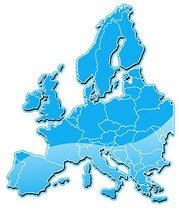 Europe map vector clipart clip art black and white Free Eastern Europe Map Clipart and Vector Graphics - Clipart.me clip art black and white