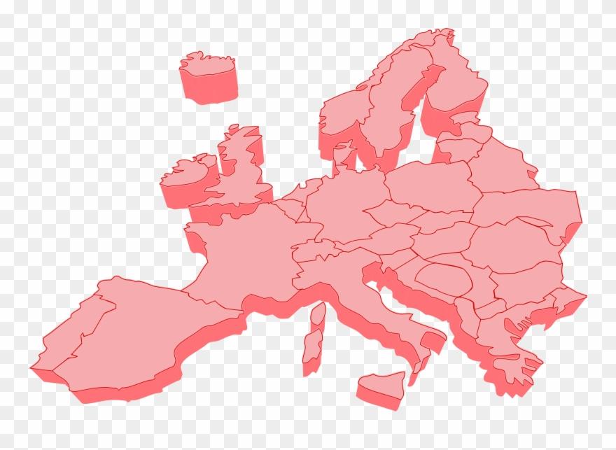 Europe map vector clipart image transparent 3d Europe Map Vector Clipart (#460119) - PinClipart image transparent