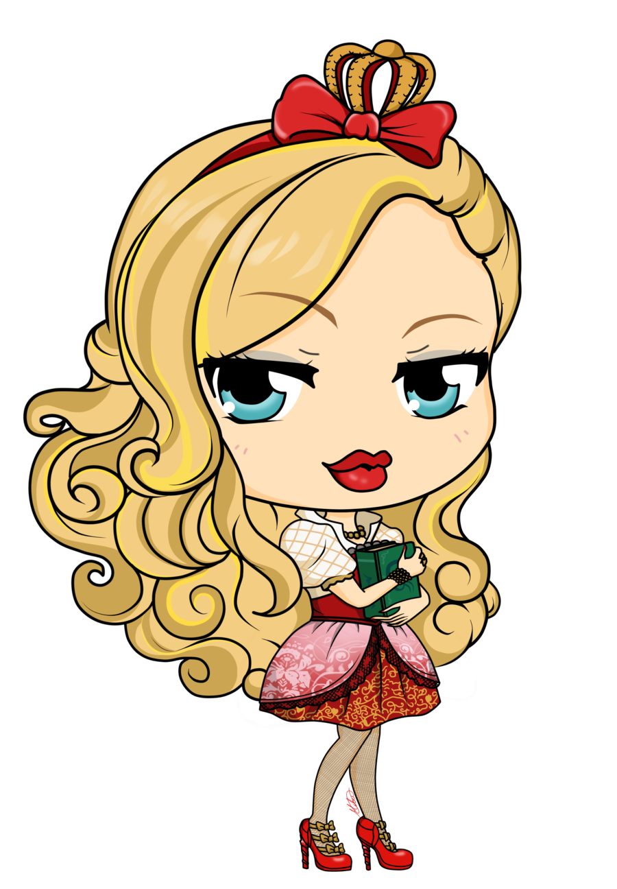 Person receiving an apple clipart vector black and white stock Ever After High - Apple White by Mibu-no-ookami.deviantart.com on ... vector black and white stock