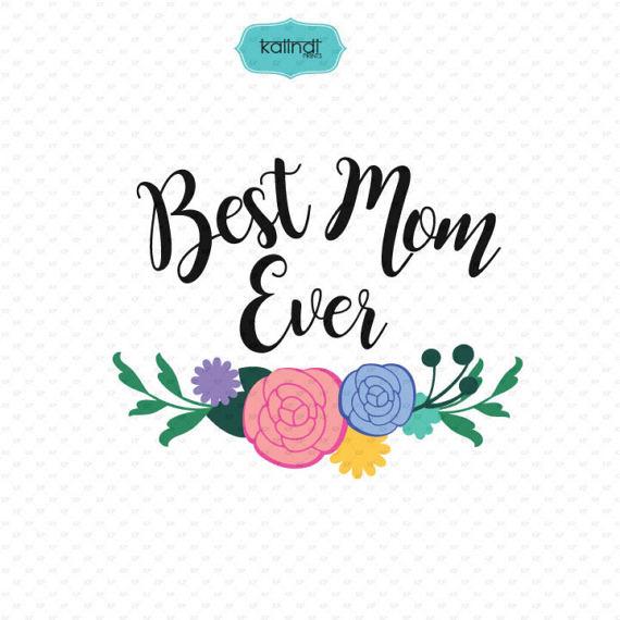Ever clipart png transparent Mother, Illustration, Text, Font, Flower, Design, Line, Art ... png transparent