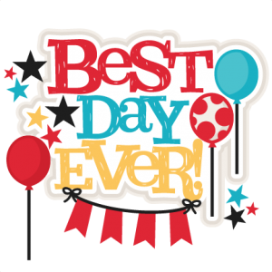 Ever clipart picture black and white library Best Day Ever! SVG | My Miss Kate Cuttables | Svg cuts, Scrapbook ... picture black and white library