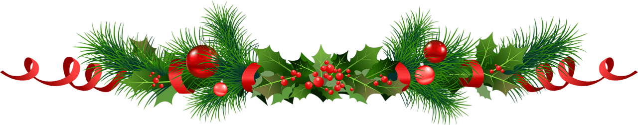 Evergreen garland clipart vector library library Evergreen Garland Cliparts - Cliparts Zone vector library library
