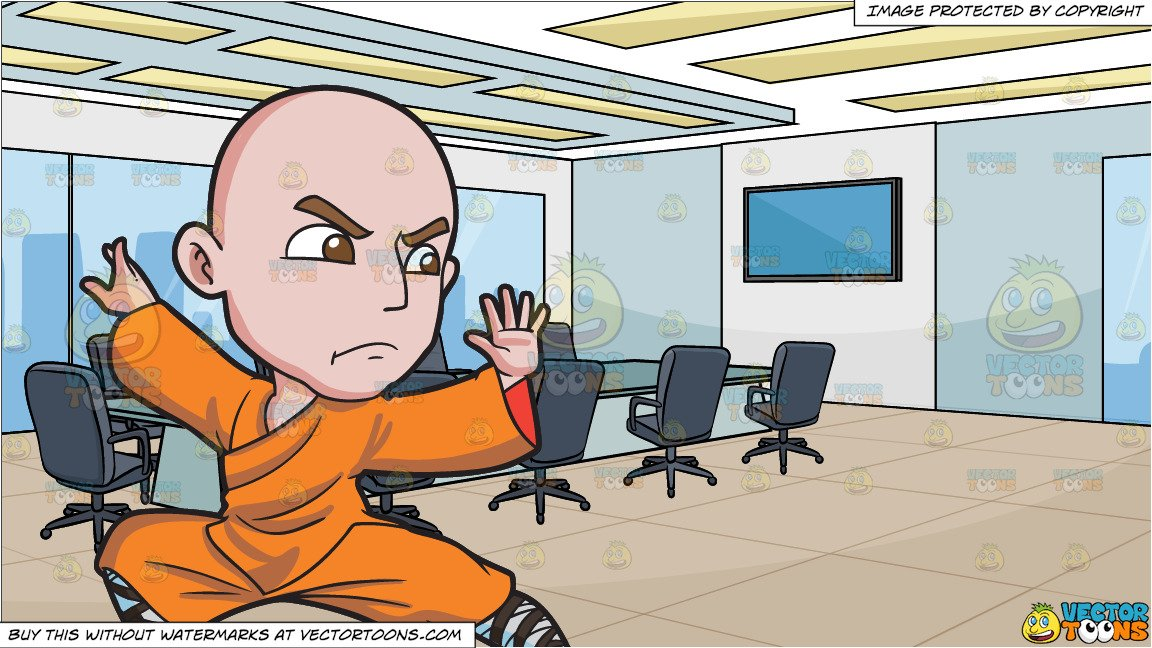 Every bunny was kung fu fighting clipart banner free A Shaolin Man Doing A Kung Fu Stance and A Modern Board Room Background banner free