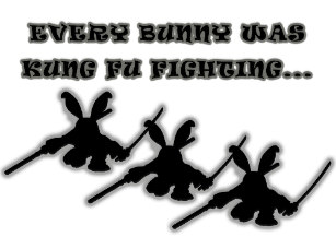 Every bunny was kung fu fighting clipart png royalty free library Kung Fu Bunny Silhouette png royalty free library