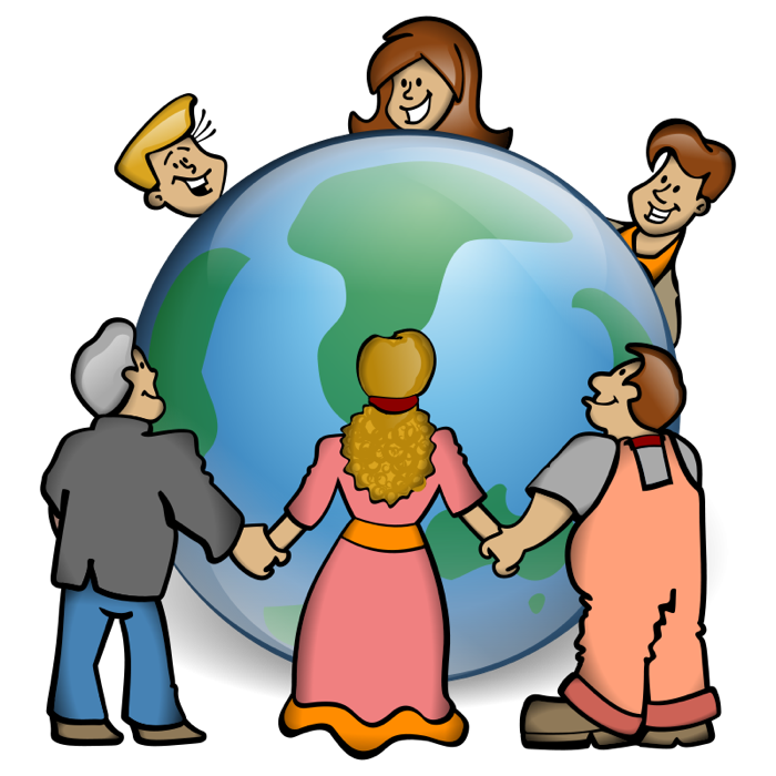 Everybody holding hands over the world clipart svg library library Free Children Holding Hands Clipart, Download Free Clip Art, Free ... svg library library