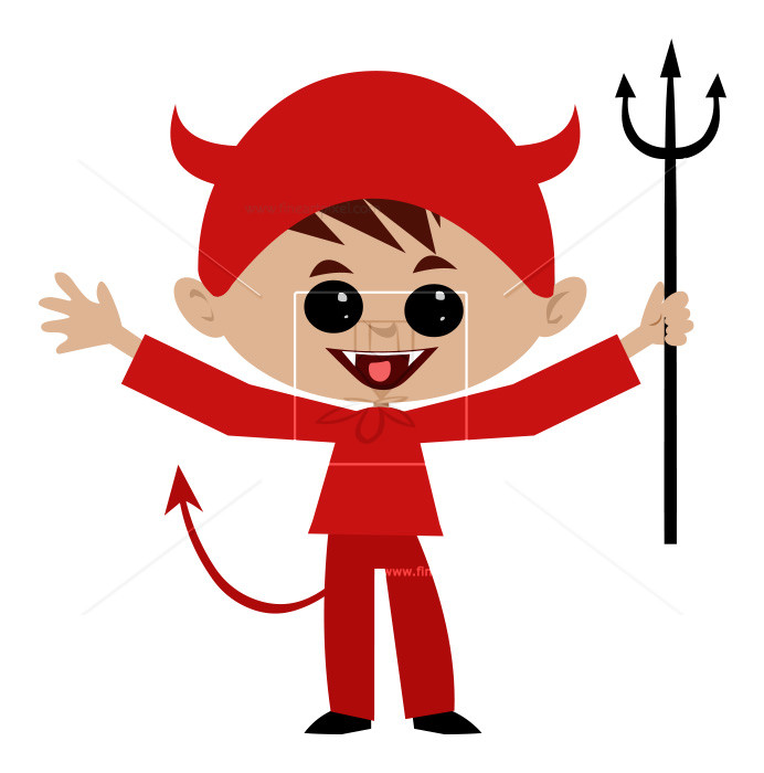 Evil boy clipart image library stock Halloween-Evil Boy | Free vectors, illustrations, graphics, clipart, PNG ... image library stock