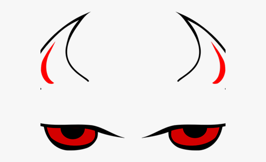 Evil eyes clipart png freeuse Horns Clipart Evil Eye - Devil Horns And Eyes, Cliparts & Cartoons ... png freeuse