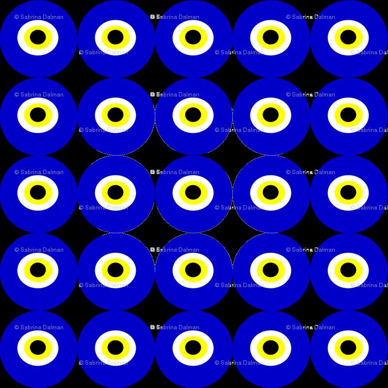 Evil eyes football clipart. Nazar eye fabric riyah