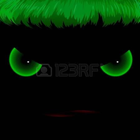 Evil green hearts clipart - ClipartFest image library