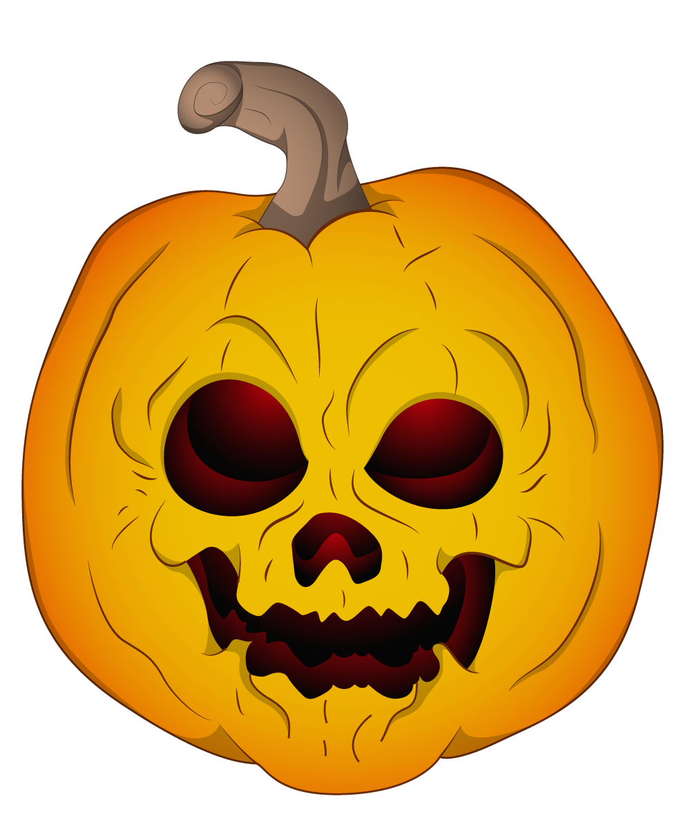 Scary pumpkin face clipart freeuse library Halloween Evil Pumpkin Clipart | Gallery Yopriceville - High ... freeuse library
