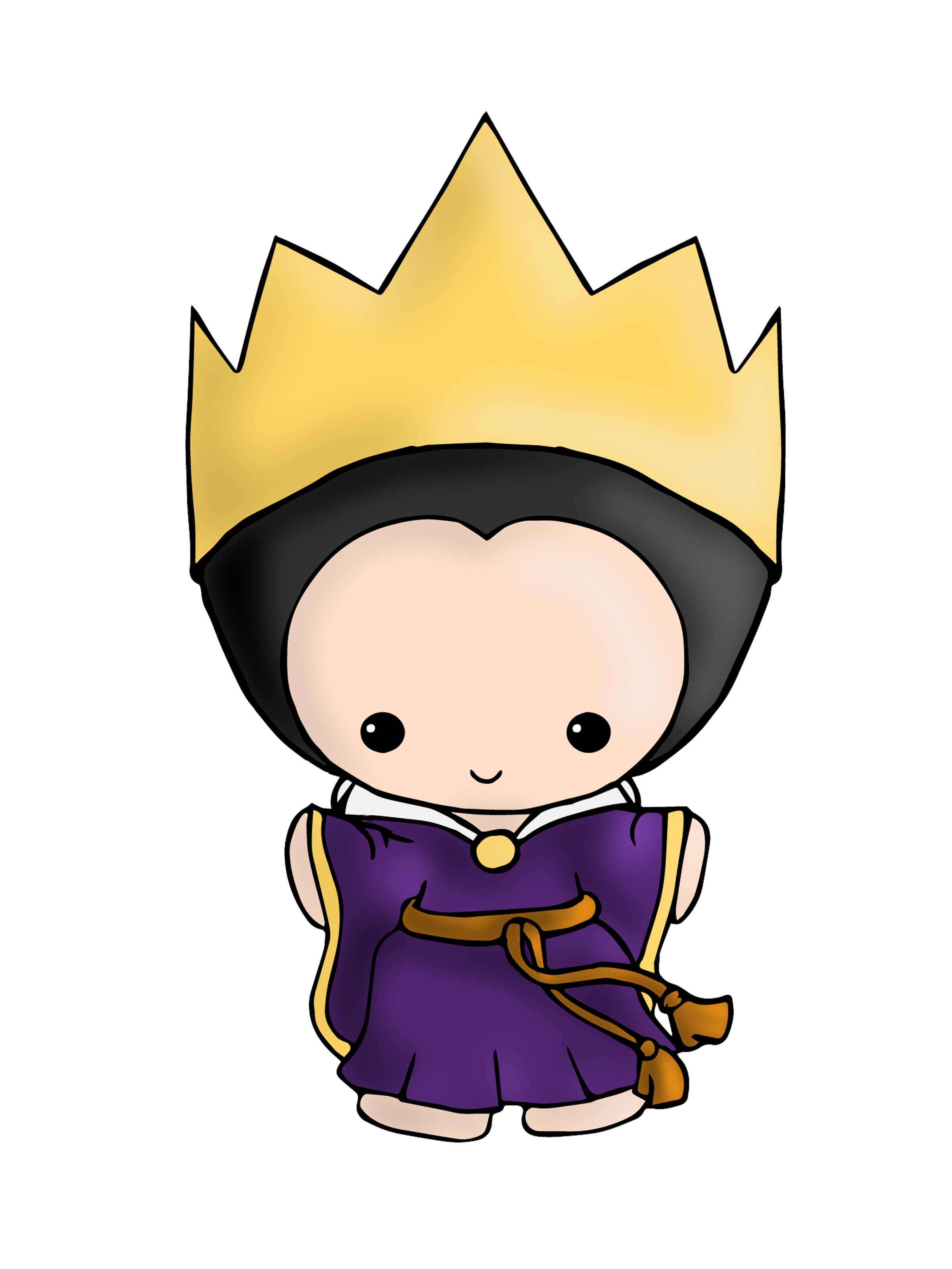 Evil queen clipart crown picture royalty free library Evil Queen! Available on Shirts and Stickers here: http://www ... picture royalty free library