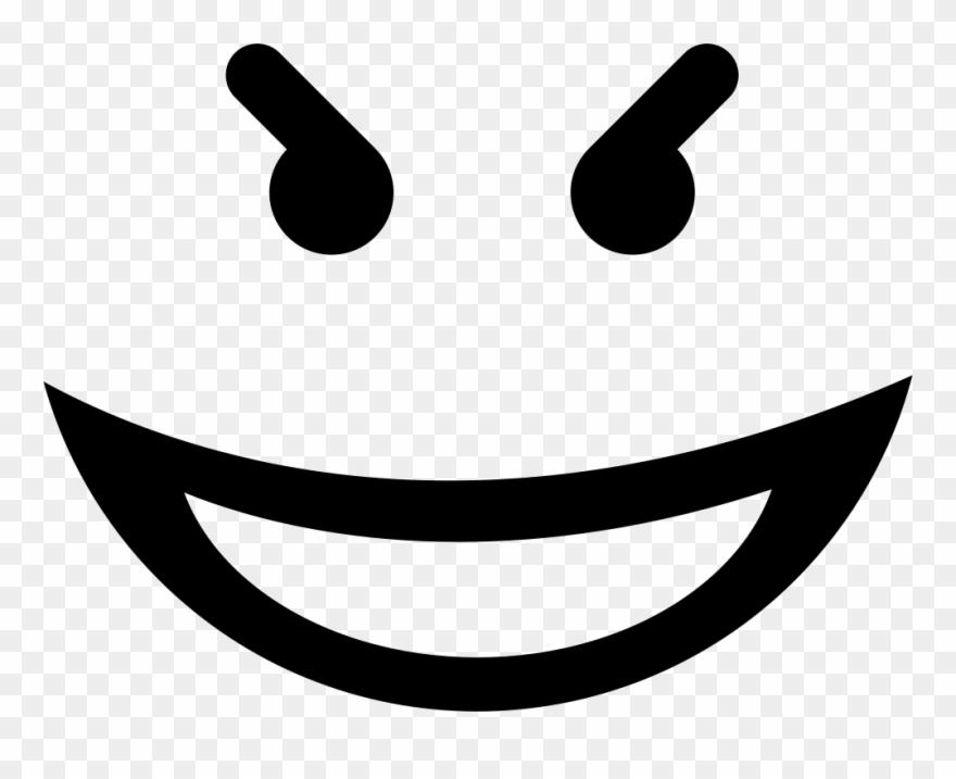 Evil smiley face clipart jpg stock Evil Face Png Clipart (#610211) - PinClipart jpg stock