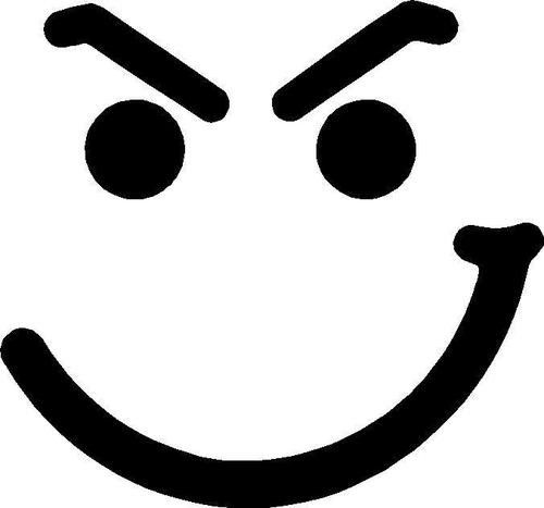 Evil smiley face clipart png library stock have a nice face bon jovi | Displaying (20) Gallery Images For Have ... png library stock