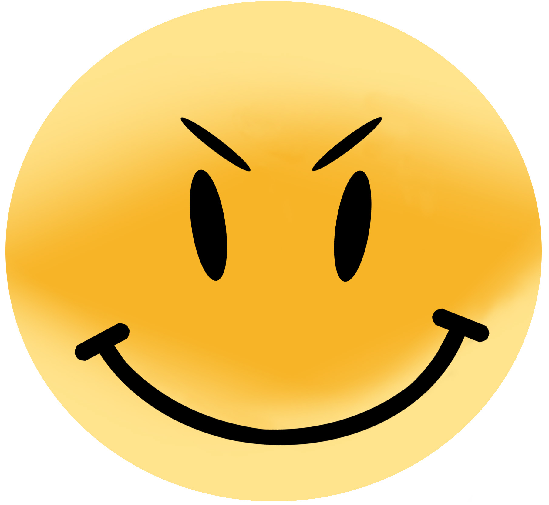 Evil smiley face clipart png free stock Evil Smiley Face Clip Art N10 free image png free stock
