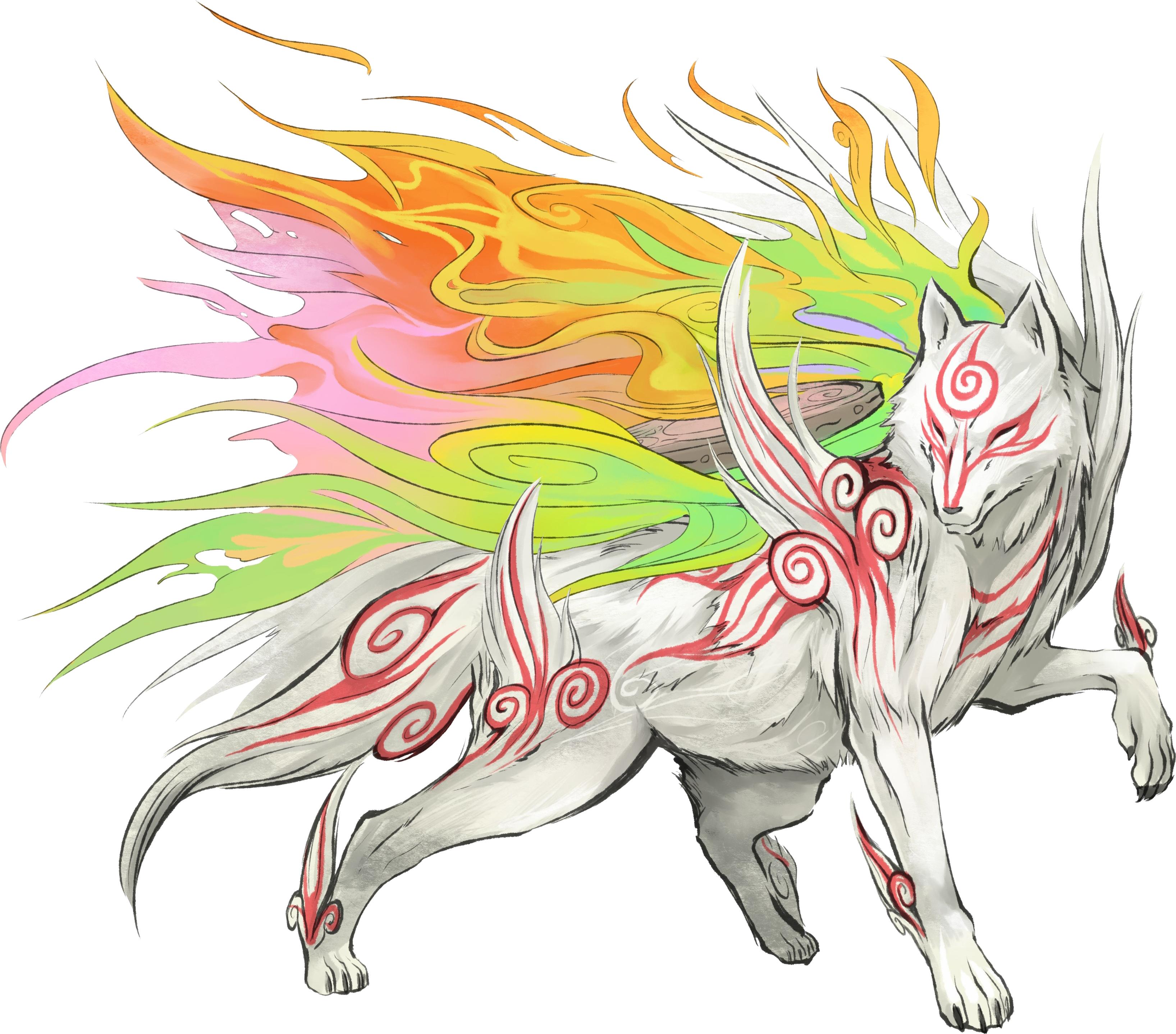 Evil sun goddess clipart image Celestial Brush gods   Okami Wiki   FANDOM powered by Wikia image