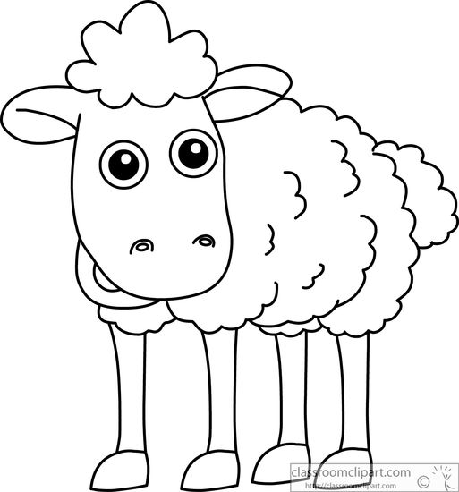 Ewe cartoon clipart black and white transparent stock Sheep black and white sheep images vectors and psd files free ... transparent stock