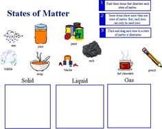 Examples of gas clipart png royalty free library States of Matter Clip Art | Matter picture sort Liquids, Solids ... png royalty free library