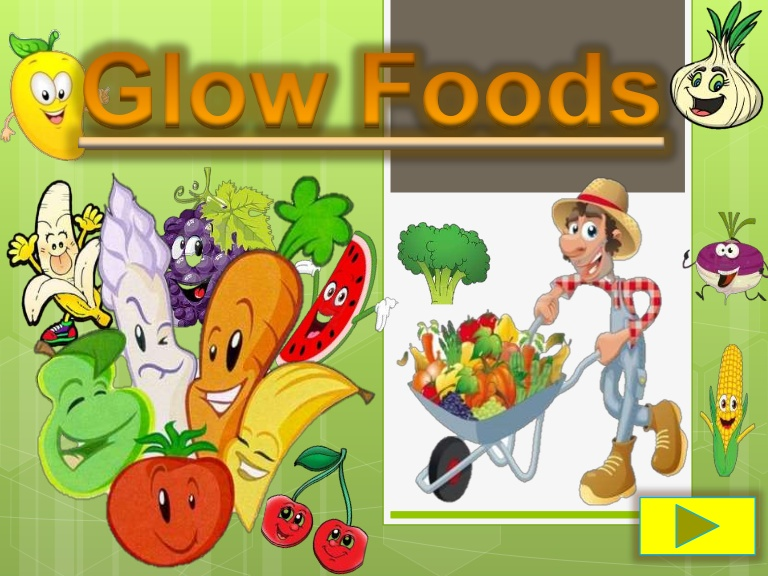 Examples of glow foods clipart clipart library Glow foods powerpoint clipart library