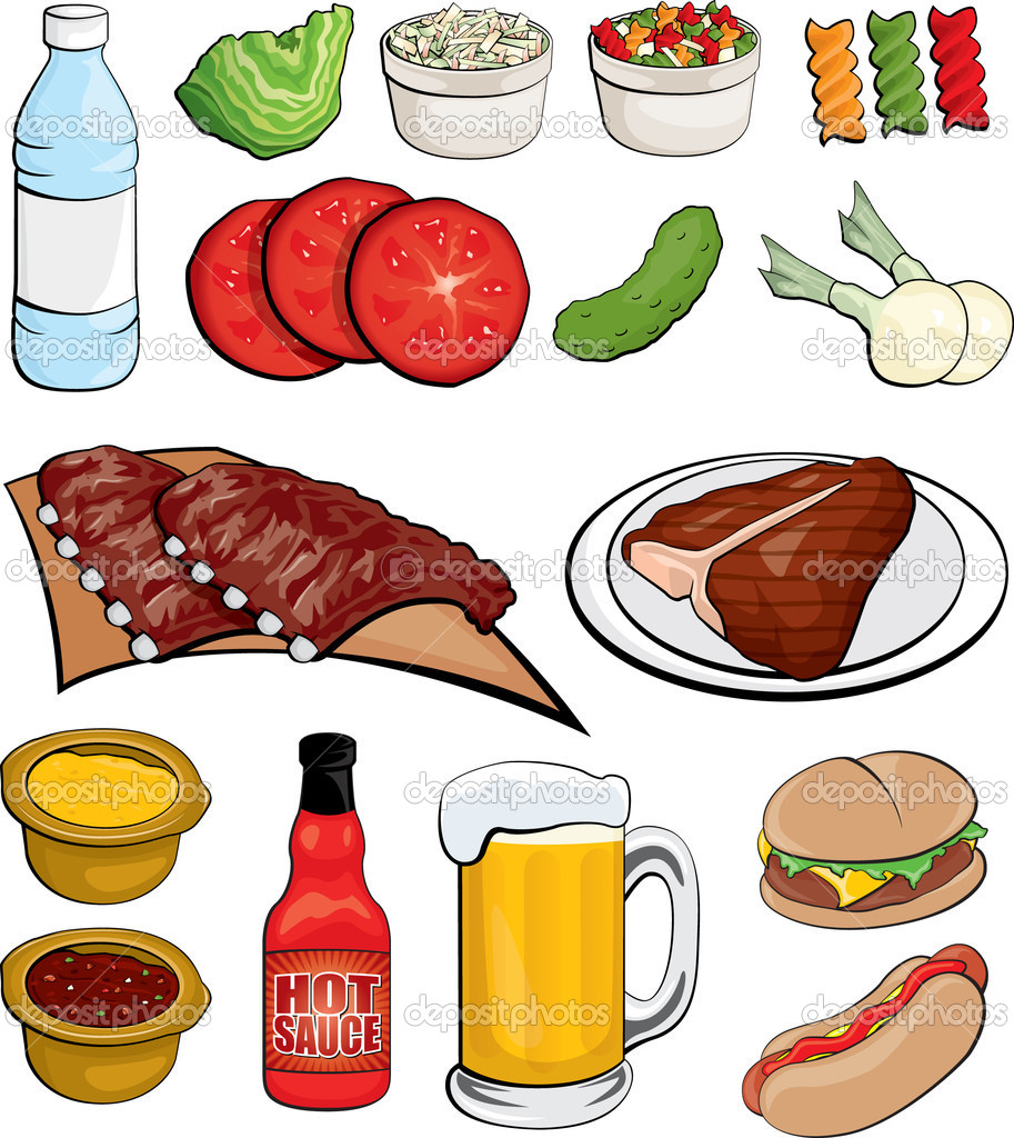 Examples of go foods clipart image Food Clip Art Bundle | Clipart Panda - Free Clipart Images image