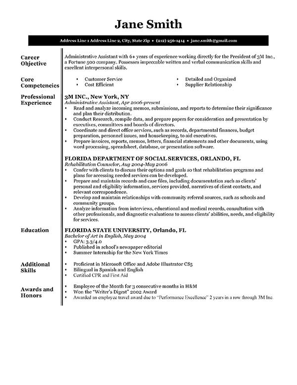 Examples of resumes graphic stock Free Resume Samples & Writing Guides for All graphic stock