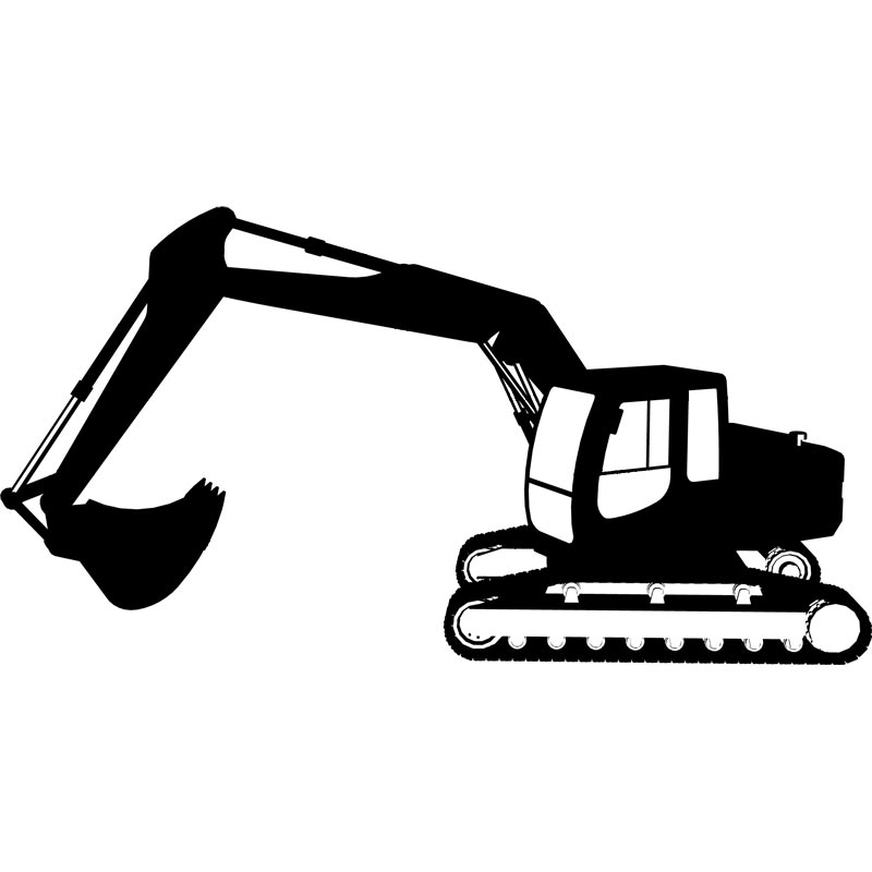 Excavator clipart black and white download Free Excavator Cliparts, Download Free Clip Art, Free Clip Art on ... black and white download