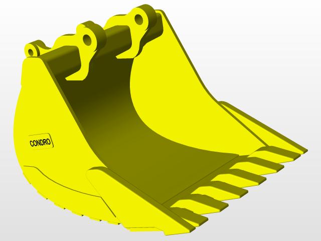 Excavator bucket clipart jpg free download EXCAVATOR BUCKET | 3D CAD Model Library | GrabCAD jpg free download
