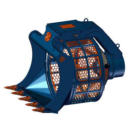 Excavator bucket clipart clip library stock Screening bucket / for excavators BVR series Trevi Benne clip library stock