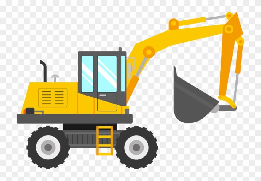 Sillybackhoe clipart transparent download Digger Clip Art - Kid Excavator Clipart - Png Download (#3798043 ... transparent download