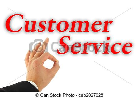 Excellent customer service clip art image free stock Stock Illustration of Excellent Customer Service Concept ... image free stock