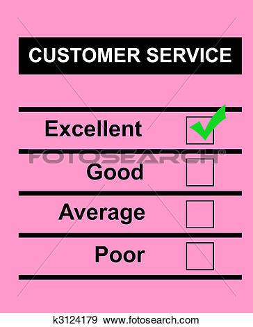 Excellent customer service clip art jpg transparent library Stock Illustration of Excellent Customer Service Concept k2027028 ... jpg transparent library