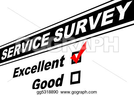 Excellent customer service clip art image library Stock Illustration - Excellent customer service survey. Clip Art ... image library