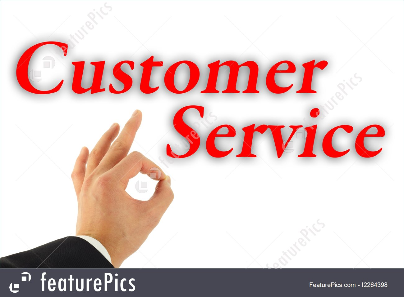 Excellent customer service clipart picture transparent stock Excellent Customer Service Concept Picture. how it should be done ... picture transparent stock