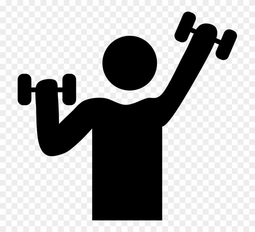 Fitness clipart images image black and white download Fitness Clipart - Exercising Clipart Png Transparent Png (#14665 ... image black and white download