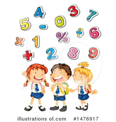 Excited for math clipart image Math Clipart #1476917 - Illustration by Graphics RF image