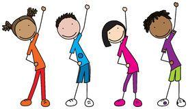 Kids exercise clipart svg black and white library Exercise clipart free 1 » Clipart Portal svg black and white library