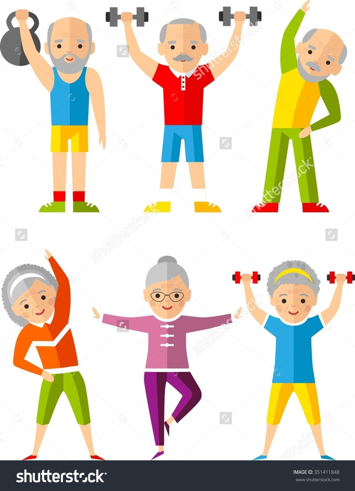 Exercise clipart pictures free clip art library library Image result for free clipart senior exercise | Health | Senior ... clip art library library
