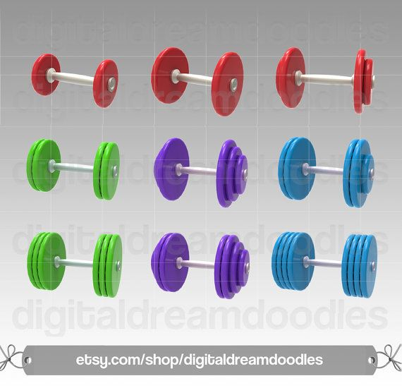 Exercise free wieght clipart clip transparent stock Dumbbell Clipart, Barbell Clipart, Exercise Clipart, Workout Clipart ... clip transparent stock