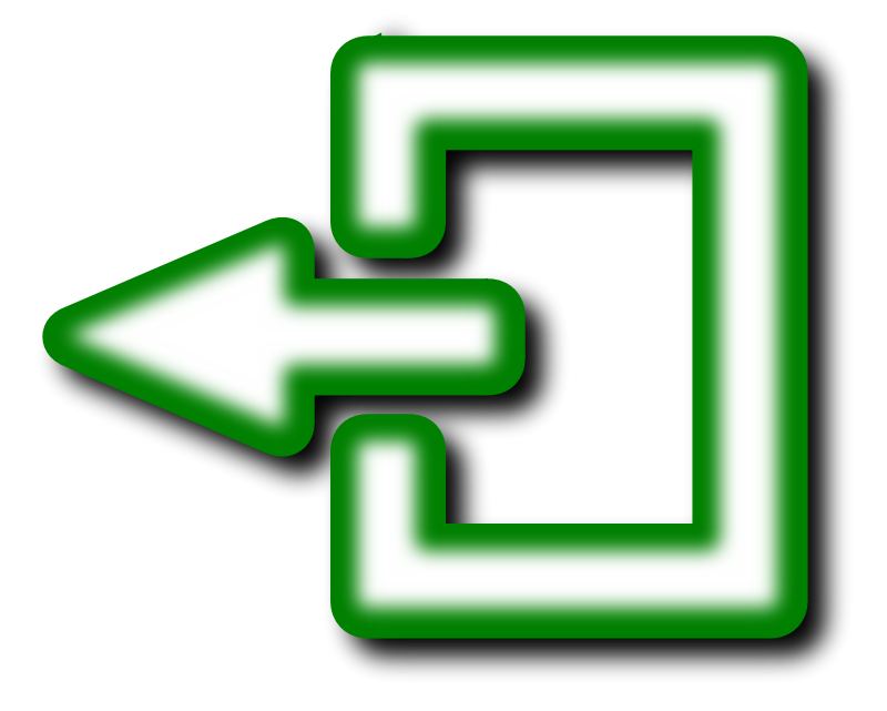 Exit icon clipart stock Free Clipart: Exit Icon   ivak stock
