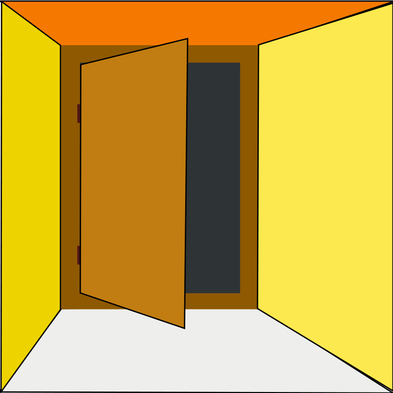 Exiting door clipart banner freeuse download Free Clipart: Netalloy door exit | netalloy banner freeuse download