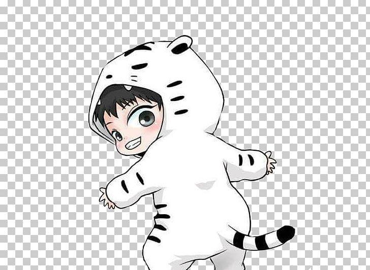Exo chibi clipart clip art transparent download Tiger EXO Chibi Drawing Fan Art PNG, Clipart, Animals, Arm, Art ... clip art transparent download
