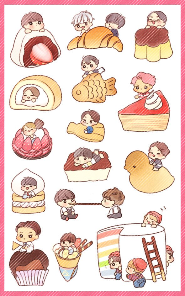 Exo stickers clipart jpg download EXOCEANIA on Twitter: \