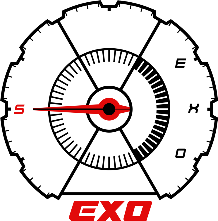 Exo stickers clipart svg library Exo Tempo Sticker - Exo Dont Mess Up My Tempo Logo Png Clipart ... svg library