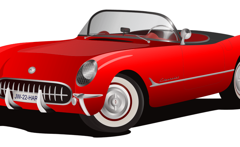 Exotic car clipart clip free stock Luxury Red Car Clip Art | National Car BG clip free stock