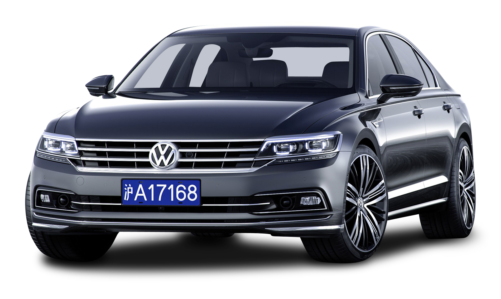 Expensive car clipart picture freeuse stock Grey Volkswagen Phideon luxury Car PNG Image - PurePNG | Free ... picture freeuse stock