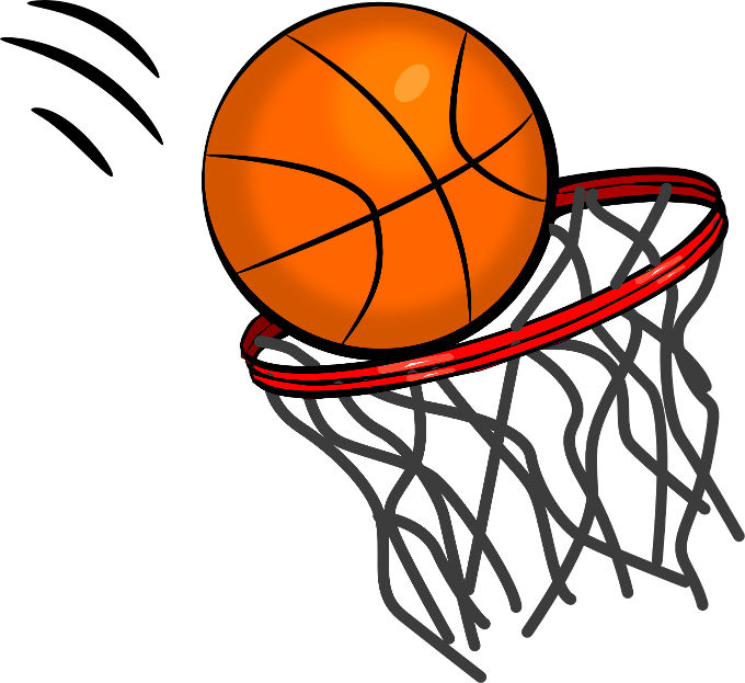 Exploding basketball clipart picture black and white download View from the Valley: Free Throw Contest Jan. 14 picture black and white download